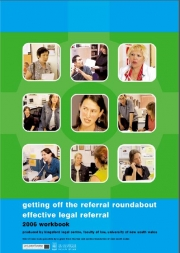Getting off the referral roundabout effective legal referral cover